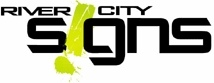 River City Signs Footer Logo